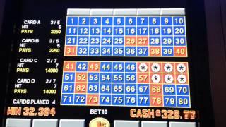 4 card keno hits $325 #1