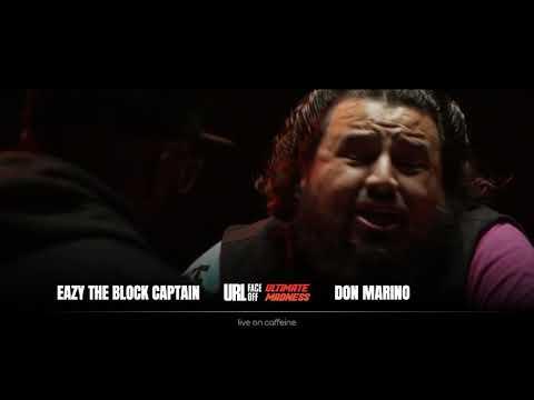 ULTIMATE MADNESS FACEOFFS: EAZY THE BLOCK CAPTAIN VS DON MARINO | URLTV