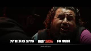 ULTIMATE MADNESS FACEOFFS: EAZY THE BLOCK CAPTAIN VS DON MARINO | URLTV
