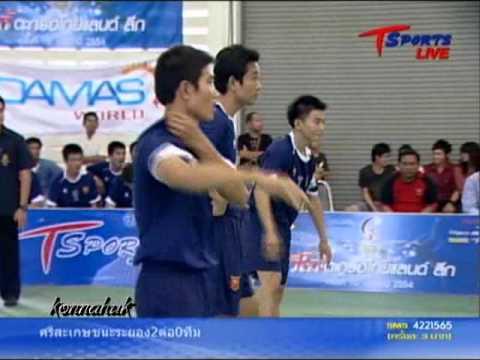 2011 Sepak Takraw Thailand League ''Loei vs Phrae 1 of 6