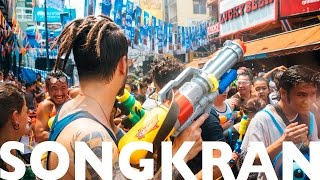 SONGKRAN - THE WORLD'S BIGGEST WATER FIGHT!