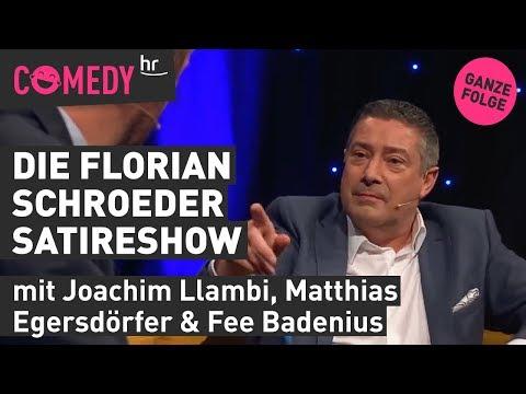 Die Florian Schroeder Satire Show mit Matthias Egersdörfer, Fee Badenius & Joachim Llambi