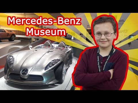 Mercedes Benz Museum - Stuttgart, Germany (Deutschland) - A Great Journey to The Past and The Future