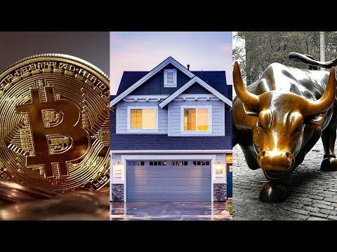 BITCOIN VS REAL ESTATE VS STOCKS!