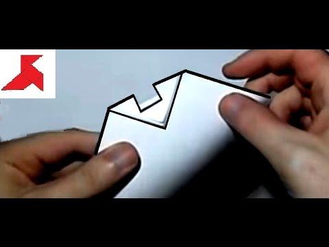 Как скрепить между собой листы бумаги формата А4 с помощью ножниц?