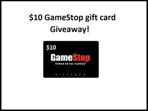 Gamestop gift card giveaway
