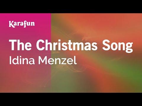 Karaoke The Christmas Song - Idina Menzel *