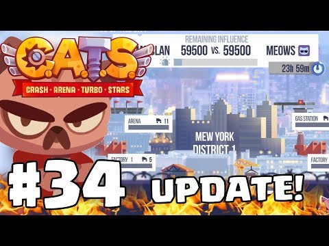 CITY KINGS Update!!   C.A.T.S   Crash Arena Turbo Stars Gameplay Part 34