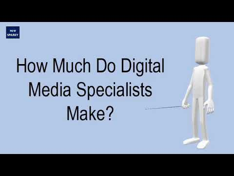 How Much Do Digital Media Specialists Make?