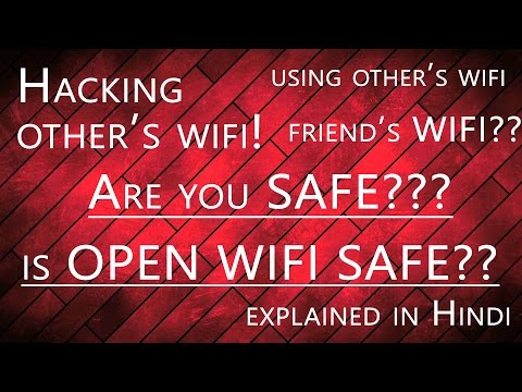 Is using other's WIFI Illegal? Hacking WIFI? Open WIFI Networks| Any Risks? [Hindi]