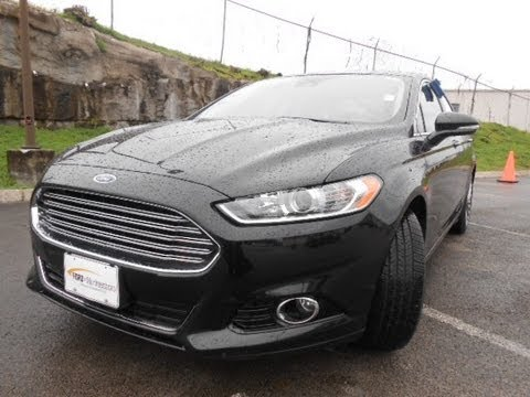 2013 Ford Fusion Titanium 2 0 400a Tuxedo Black Ford Of