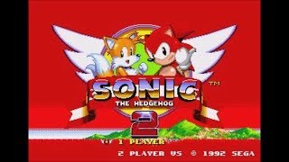 Fire Sonic in Sonic the Hedgehog 2 (Genesis) - Longplay