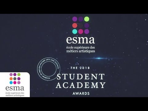 Two ESMA short films at the Student Oscars...