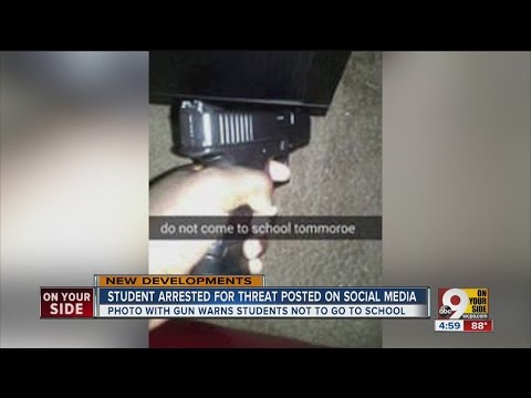 Northwest High School student arrested after school shooting threat on Snapchat