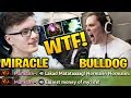 MIRACLE vs ADMIRALBULLDOG   WTF  M GOD Ruined My Lucky Day Dota 2 7 17