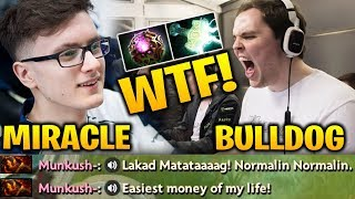 MIRACLE vs ADMIRALBULLDOG - WTF! M-GOD Ruined My Lucky Day Dota 2 7.17
