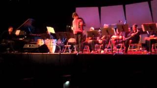 Cory Pesaturo with UNCA Big Band II