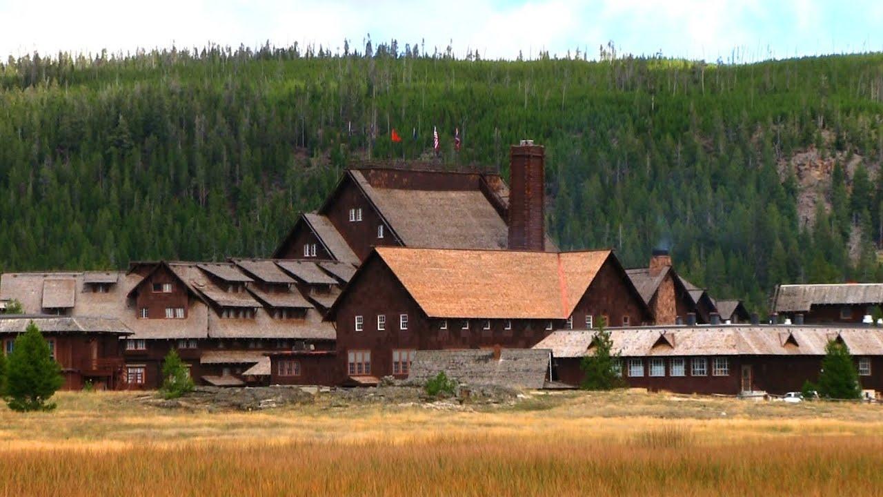 Old faithful inn yellowstone national park youtube for Hotels yellowstone national park