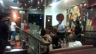 Pizza Hut Dance, Varanasi
