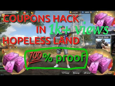How to generate coupon in hopeless land !! Hack coupons free !! Video by S gaming