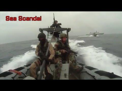 Somali Pirates Vs Ship's Private Security Guard New Video 2017 | Exclusive Video
