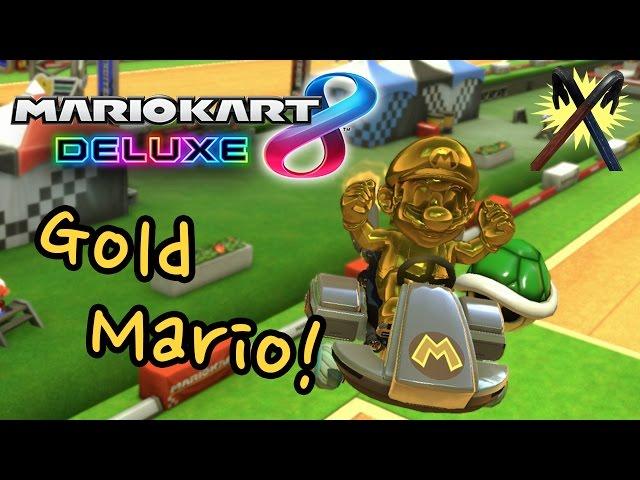 Mario Kart 8 Deluxe - How to Unlock Gold Mario