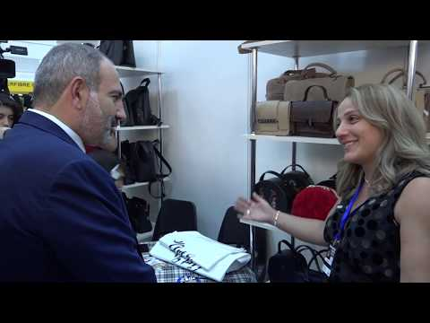 PM Introduced To Products Exhibited At Armenia Expo-2019