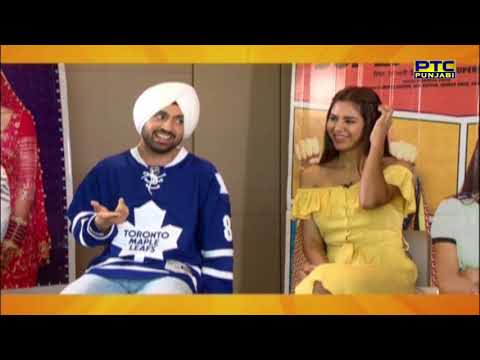 Diljit Dosanjh   Super Singh   Super Chat   PTC Entertainment Show   PTC Punjabi