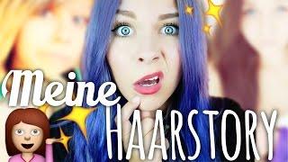 MEINE HAARSTORY + viele peinliche Bilder ♡ | Dagi Bee