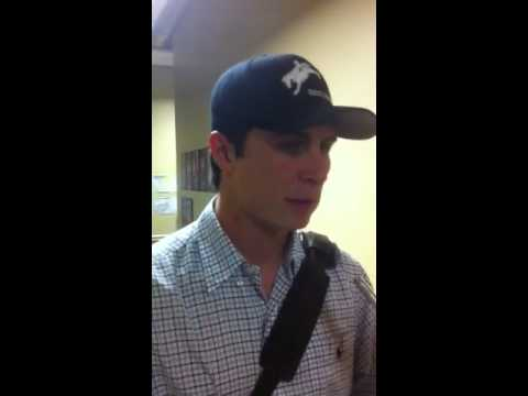Homer Bailey talks after his last rehab start for Louisville - Louisville Bats