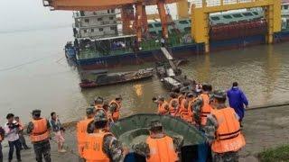 Schiffsunglück auf dem Yangtze
