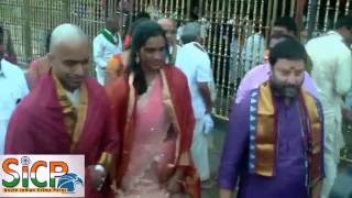 Olympic silver medallist P V Sindhu Visit Tirupati shrine 01
