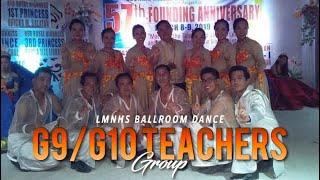 BALLROOM DANCE COMPETITION | LMNHS TEACHERS