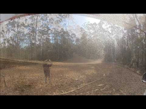 Michael Barrett & Thomas Barrett - Narooma Forest Rally 2014 - SS1/SS5 SOS Point