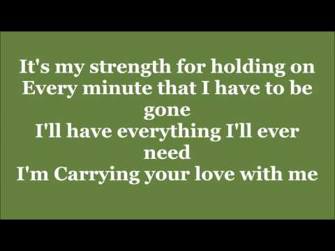 George Strait Carrying your love