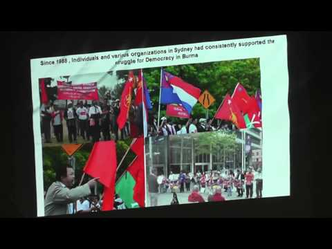 Welcome Dinner For The Democratic Government Of Burma Presentation  Sydney 17 04 2016