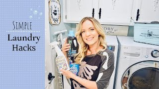 LAUNDRY HACKS EVERYONE NEEDS TO KNOW! | MONICA ROSE