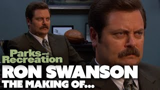 The Making Of Ron Swanson | Parks and Recreation | Comedy Bites