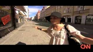 Nina Persson talking about her hometown Malmö in Sweden