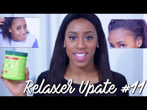 Relaxer Update #11 | Healthy Hair Again!!
