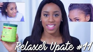 Relaxer Update #11 | Healthy Hair Again!!