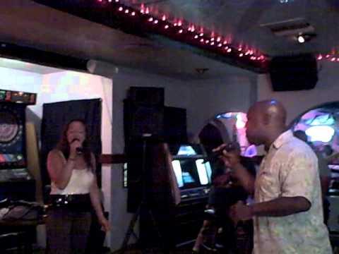Cheri Romero and Tony Luckey at T2 Trinos