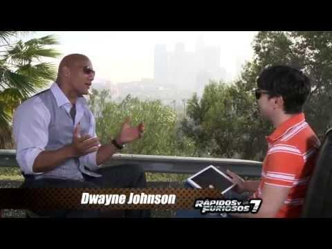 Entrevista Dwayne Johnson - Rápidos y Furiosos 7