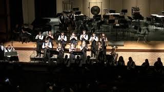 God Rest Ye, Merry Gentlemen - Unionville High School Winter Band Concert, Dec 2018