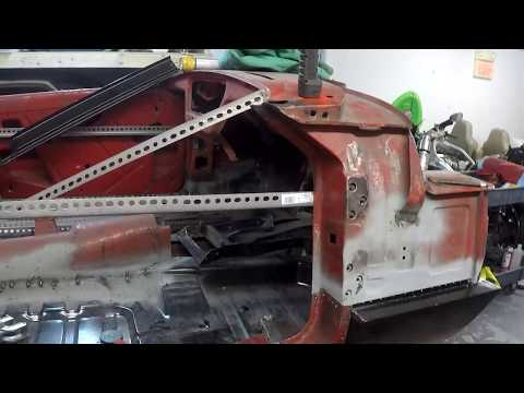 Triumph Spitfire Body Repair - Outer Sill Install