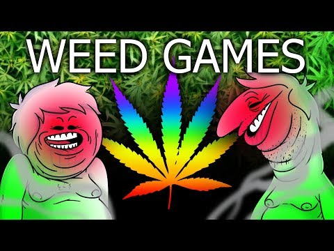 Oney Plays WEED GAMES - (With PsychicPebbles)