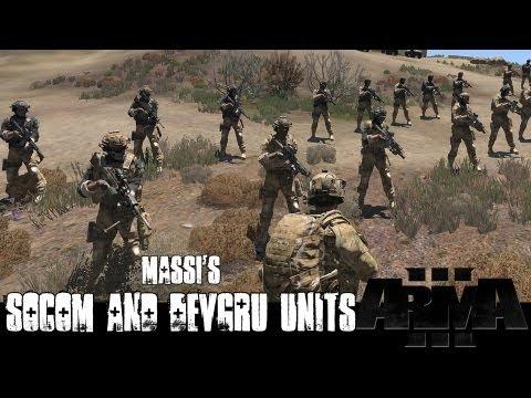 Мод солдат USSOCOM, DEVGRU и Delta Force для ARMA 3