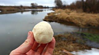 На это воздушное тесто ловлю карася ведрами весной по холодной воде летом и осенью