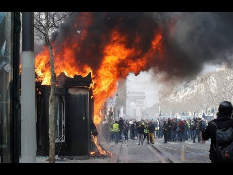 Yellow Vests protest in Paris, Act 18 (Part 3)