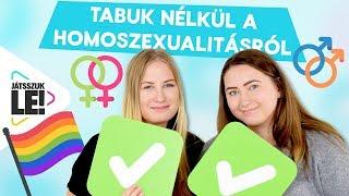 Tabuk nélkül a homoszexualitásról | Beszéljük ki Marissal és Klauval! | Játsszuk le!